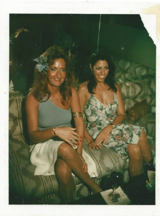 barbara and me in the 80s