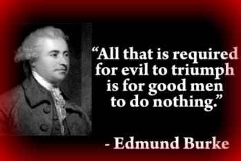 good men to do nothing
