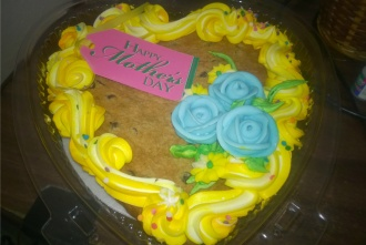 moms day cookie from michael 2015