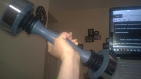 My shaker weight