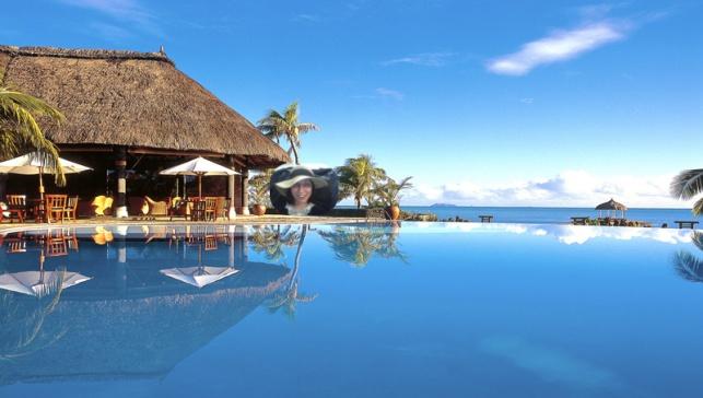 sunbathing in Mayotte