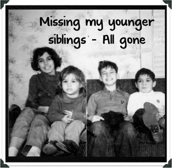 missing my siblings me bobby kathy billy