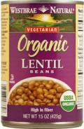 organic lentils