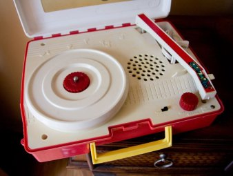 CHILD HOOD RECORD PLAYER