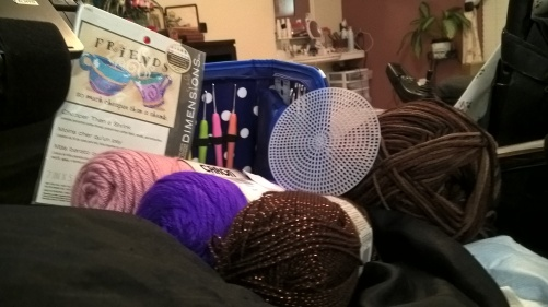 crochetting arsenal