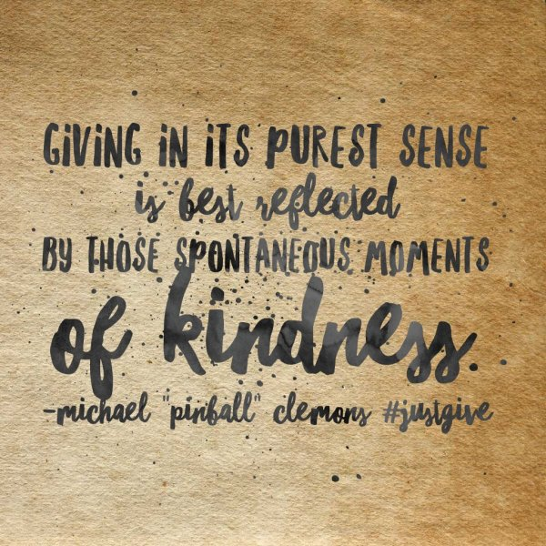 giving kindness