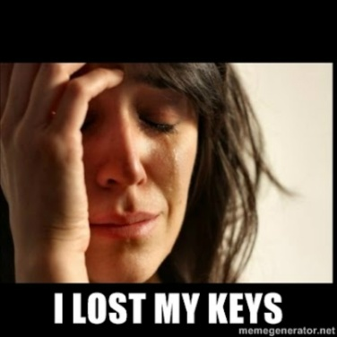 lost my keys 2