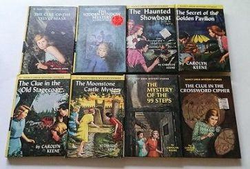 NANCY DREW BOOKS