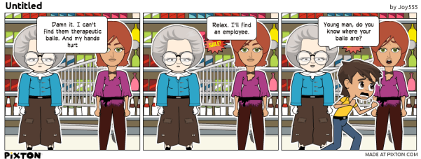 Pixton_Comic_by_Joy555 Balls