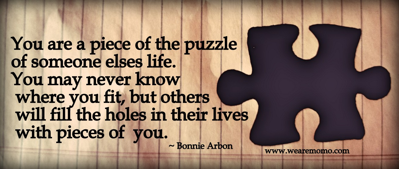 Cour Aging Piece Of Puzzle Nancy Jean Walker Post 123 Encouragement Quotes Day Two Nancy Jean Walker