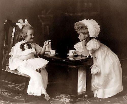childhood-tea-party